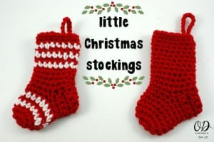 | Little Christmas Stockings | Oombawka Design