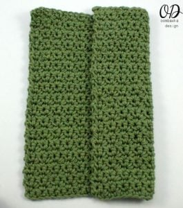 The Simplest Dishcloth - oombawkadesigncrochet