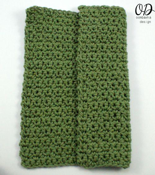 LLANCS   Finished Dishcloth   Kitchen Crochet