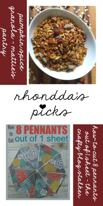 Rhonddas Picks - The Crafty Blog Stalker and Matties Pantry