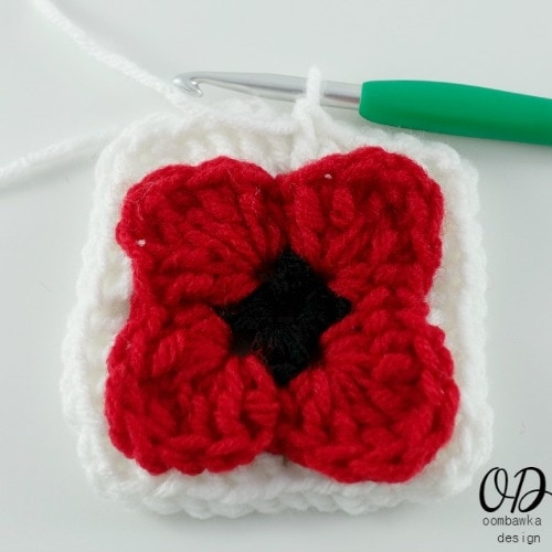 10 Lest We Forget Square | Free Pattern | Oombawka Design Crochet