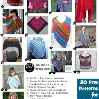 20 Free Patterns for Crochet Ponchos