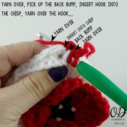 17 Lest We Forget Square | Free Pattern | Oombawka Design Crochet