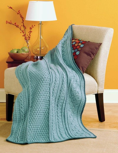 Fisherman & Tunisian Sampler | Panel by Panel Afghans Review @OombawkaDesign