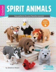 Spirit Animals – Easy patterns for your favorite mascots! | Book Review