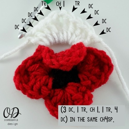 9 Lest We Forget Square | Free Pattern | Oombawka Design Crochet
