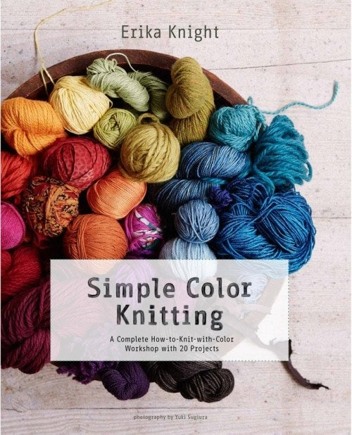 Simple Coloring Knitting Book Review | SMP | Erika Knight | at Oombawka Design Crochet