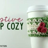 Festive Cup Cozy | Free Pattern