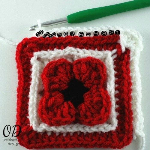31 Lest We Forget Square | Free Pattern | Oombawka Design Crochet