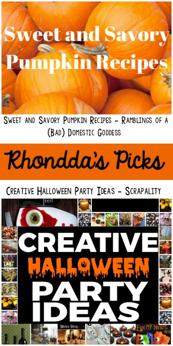 Pin Party Rhonddas Picks - Ramblings of a Bad Domestic Goddess and Scrapality