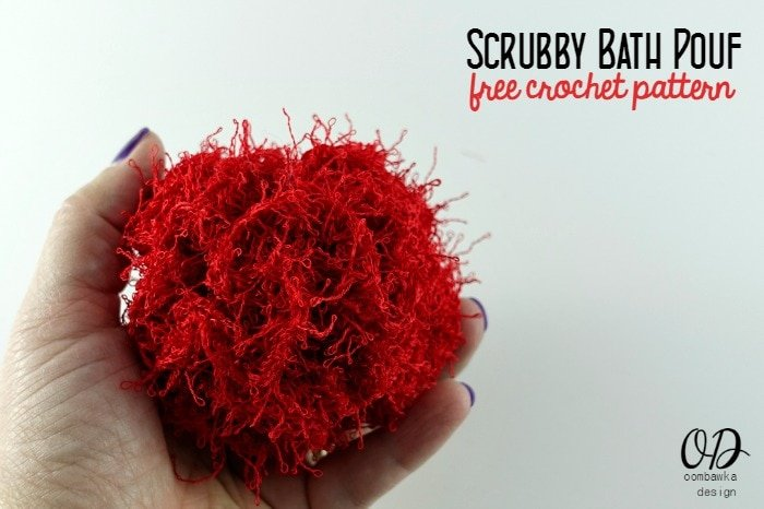 Free Crochet Pattern For Bath Pouf : Scrubby Bath Pouf Free Pattern Oombawka Design Crochet