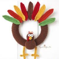 Turkey Wreath by Sarah Zimmerman