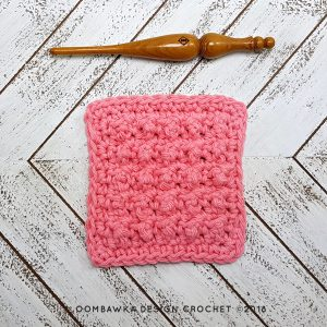 Very Merry Scrubby Dishcloth Pattern and Tutorial