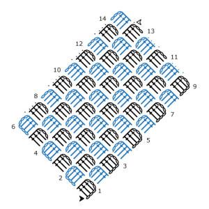 Hookin' Crochet Fonts Review. Oombawka Design.