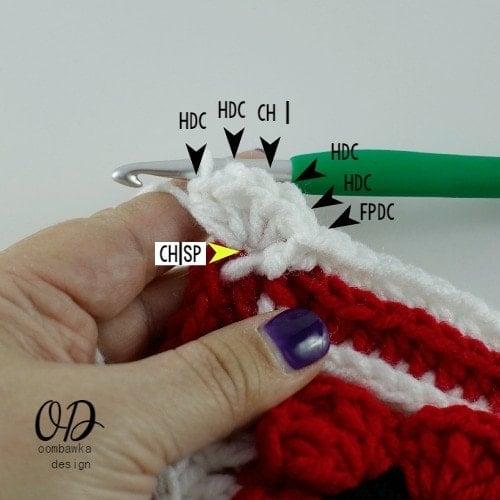 corner Lest We Forget Square   Free Pattern   Oombawka Design Crochet