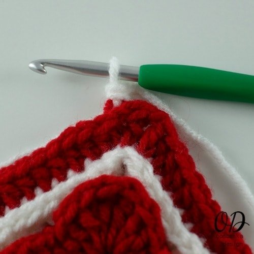first st done  Lest We Forget Square   Free Pattern   Oombawka Design Crochet
