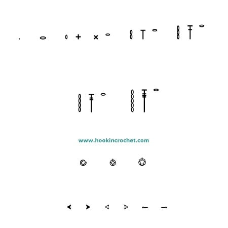 HookinCrochet Symbols Basic Review