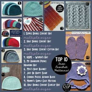 Top 10 Free Crochet Patterns Oombawka Design
