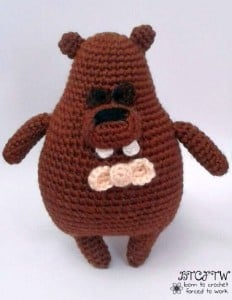 Mr. Beaver   Guest Contributor Post   Free Amigurumi Pattern