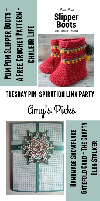 Amys Picks Chaleur Life and The Crafty Blog Stalker