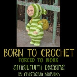 Visit Born to Crochet Forced to Work for Adorable Amigurumi Designs