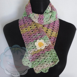 Starry Eye Scarflet – Free Pattern – Guest Post