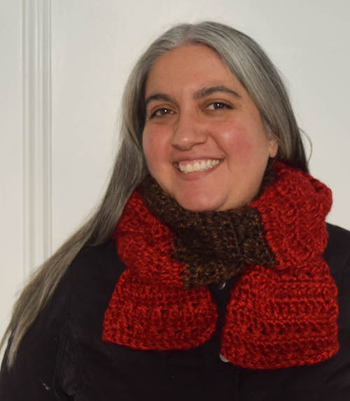 Guest Contributor Post: Color Blocked Co-Ed Scarf free crochet pattern by Marie Segares 3