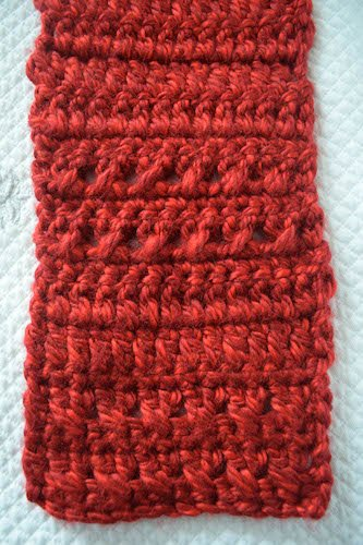 Guest Contributor Post - Charity Crochet - Color Blocked Co-Ed Scarf free crochet pattern by Marie Segares 4