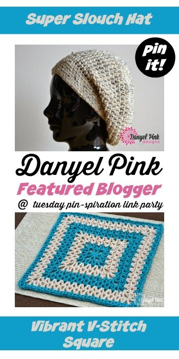 Danyel Pink Featured Blogger Tuesday PIN Spiration Link Party