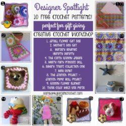 10 Free Patterns Designer Spotlight Creative Crochet Workshop