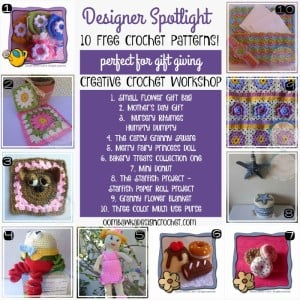 10 Free Patterns Designer Spotlight Creative Crochet Workshop