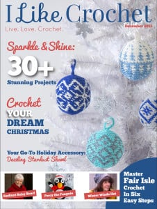 December Issue of I Like Crochet is Now Available!