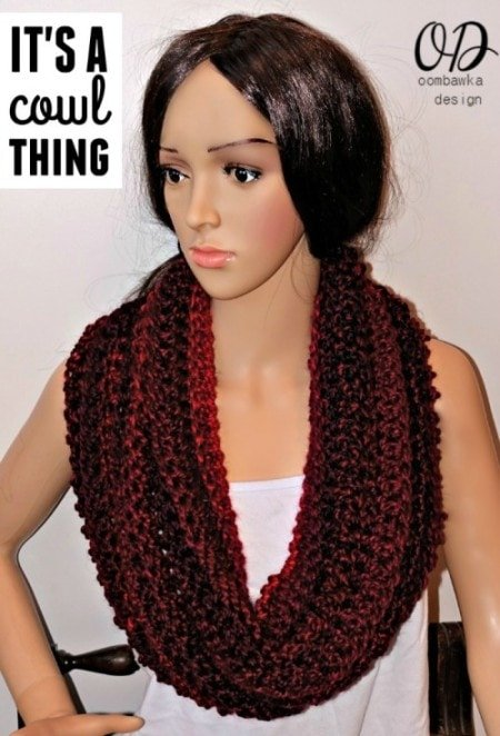 Free Crochet Pattern Its A Cowl Thing