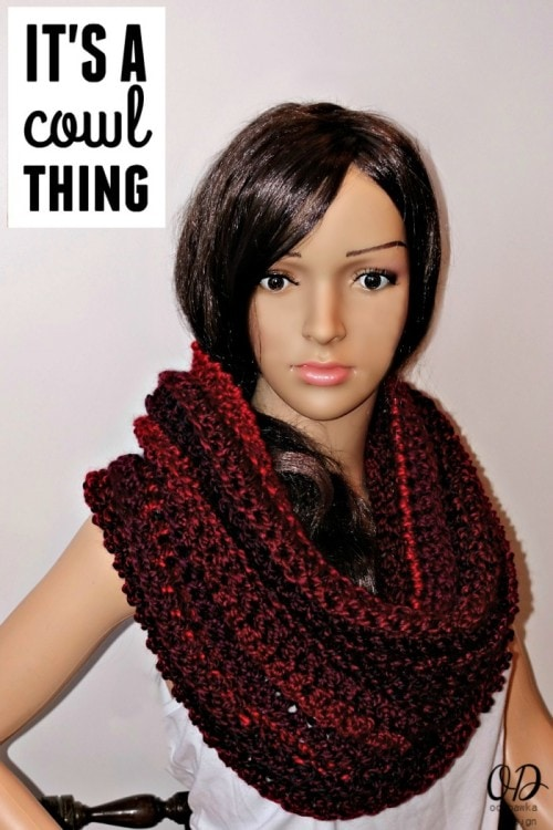 Free Crochet Pattern It's A Cowl Thing