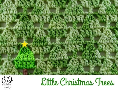 Little Christmas Trees Square