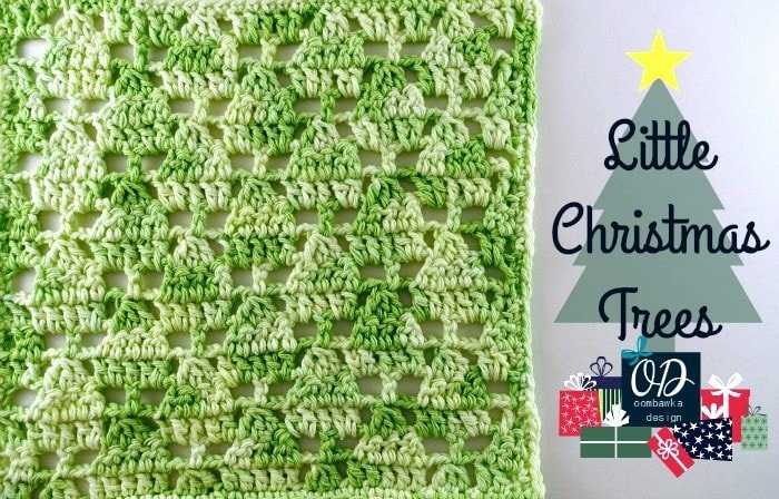Little Christmas Trees Stitch Pattern - Free Tutorial and Free Pattern 2