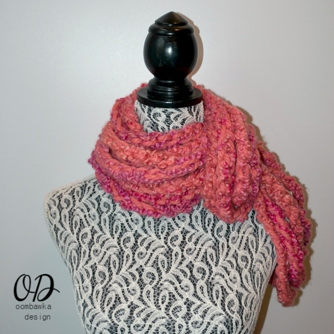 2015 2 MIX IT UP BEGINNER COWL FREE PATTERN COVER