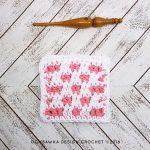 Reversible Stitch Pattern Dishcloth Oombawka Design
