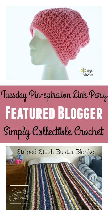 Simply Collectible Crochet Featured Blogger Tuesday PINspiration Link Party