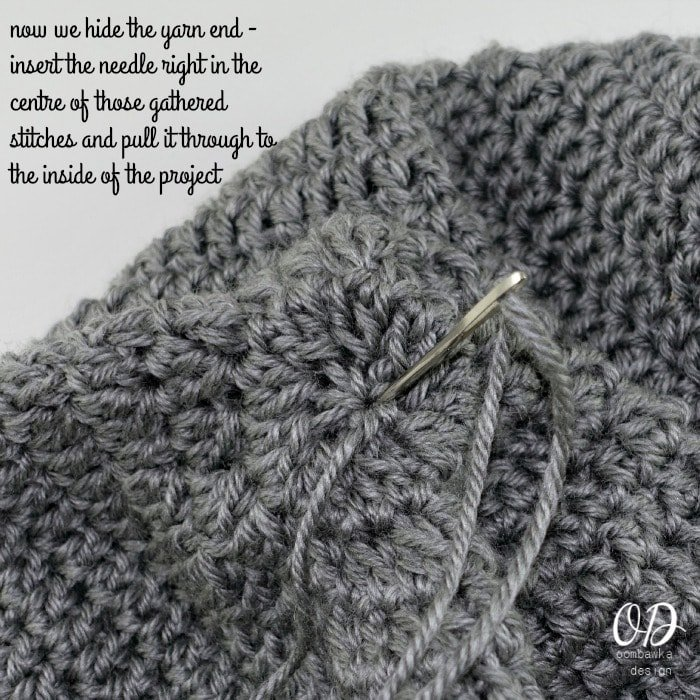 Step 6 Simple Closing Method for Hats and Mittens