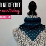 Winter Neckerchief Free Pattern