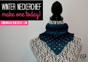 Winter Neck Kerchief aka Winter Neckerchief Free Pattern