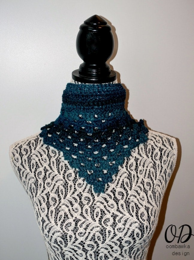 Winter Neck Kerchief Free Pattern