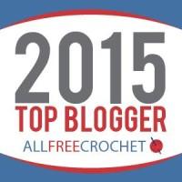 2015 Top Blogger AllFreeCrochet