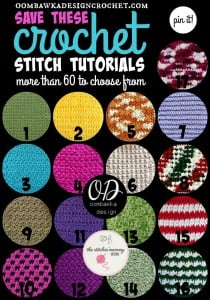 60 Crochet Stitch Tutorials You Need to Save For Later