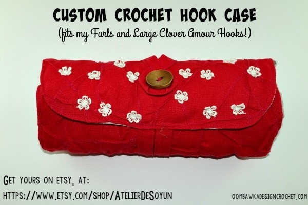 Crochet Hook Case AtelierDeSoyun