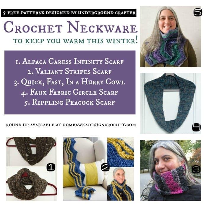 5 Free Patterns for Crochet neckware