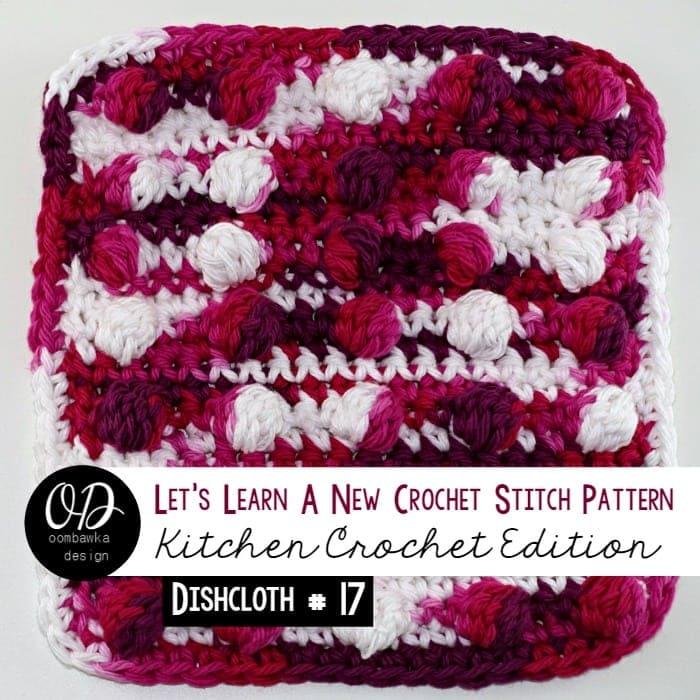 Dishcloth 17 Spot On! LLANCS