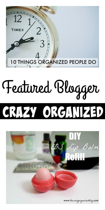 Featured Blogger Crazy Organized