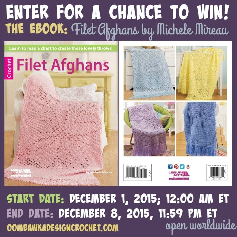 Filet Afghans Book Review and Giveaway